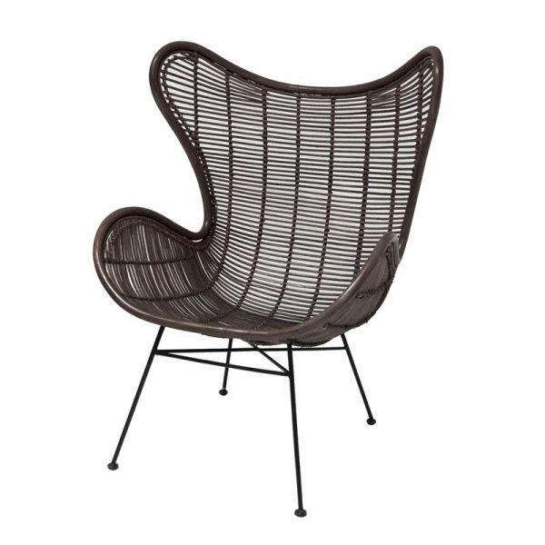 Na een lange dag even lekker tot rust komen in een comfortabele en stevige stoel… dat kan met de Egg Chair van HKliving.