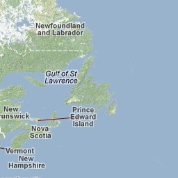 CAPE BRETON: maps and info