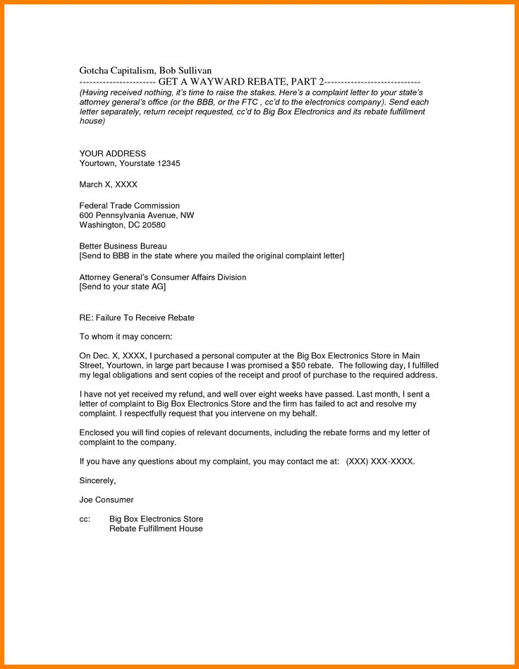 Best 25+ Formal letter format sample ideas on Pinterest Format - business complaint letter format
