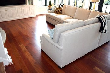 "Brazilian Cherry 5"" x 3/4"" Solid Prefinished - contemporary - wood flooring - other metro - by Hardwoods4Less, LLC"