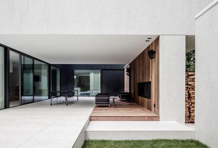open outdoor room | garden room || Villa D_Keerbergen