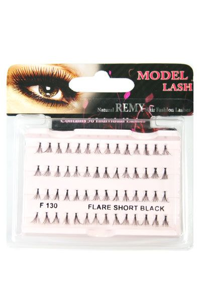 Natural Remy Hair Fashion Lashes 75