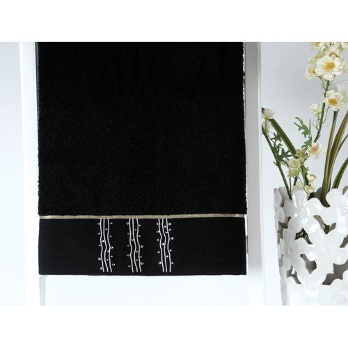 Crystal Bath Towel Irya Heimtextilien Colour: Black – Wayfair UK