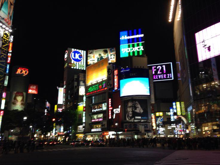 Shibuya Crossing, Tokio