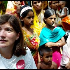 Nicky Morgan joins Conservative Party volunteers on Project Maja in Bangladesh