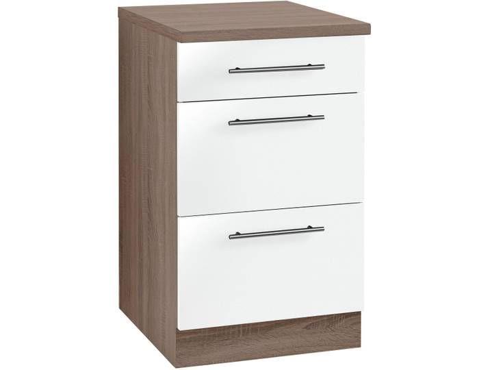 Wiho Kuchen Unterschrank Aachen Breite 50 Cm Braun Decor Filing Cabinet Home Decor