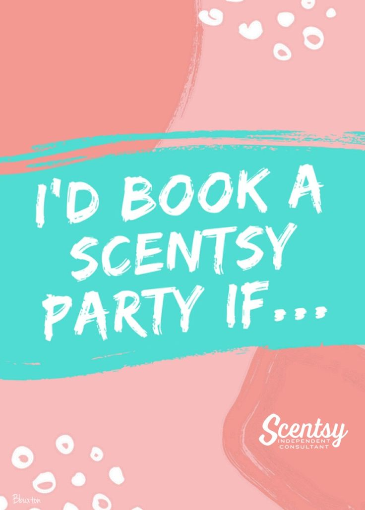 Scentsy engagement flyer