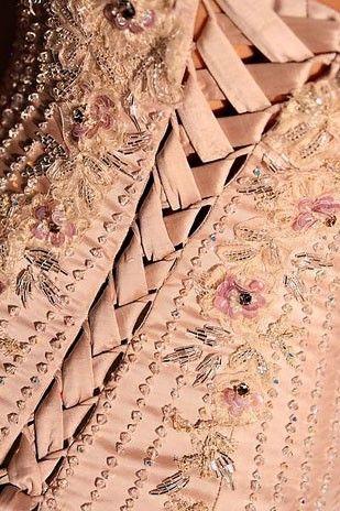 Corset: Lace, Blushes Pink, Pink Blushes, Blushes E.L.F., Pink Corsets, Beautiful Corsets, Whole Wheat Pancakes, Corsets Pink, Peaches