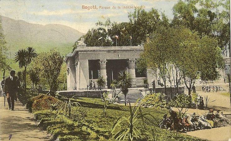 Parque de la Independencia. Bogotá, 1910