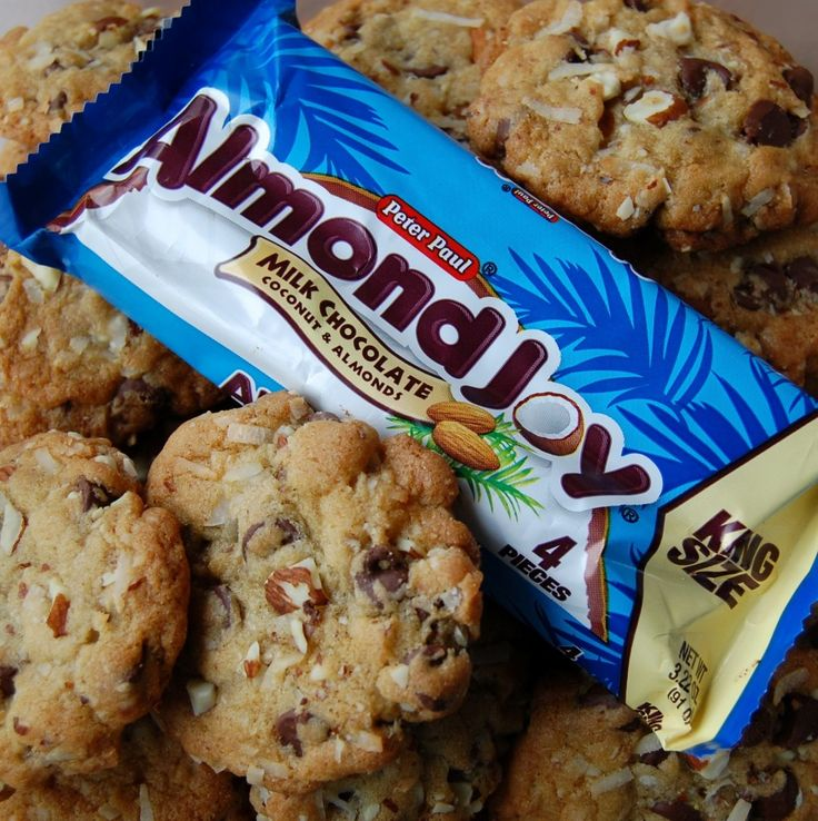 Almond Joy Cookies. FO REAL if anybody ever made these for me, I will love them till the end of time.