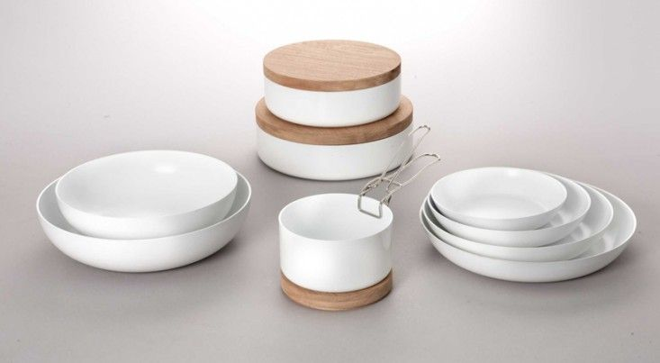ceramic cookware with clip-on detachable handles - brilliance - ABCT Pans | Remodelista