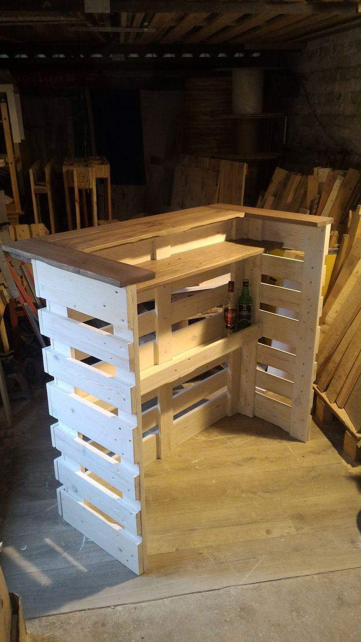 resultado de imagem para bar de pallet pallets. Black Bedroom Furniture Sets. Home Design Ideas