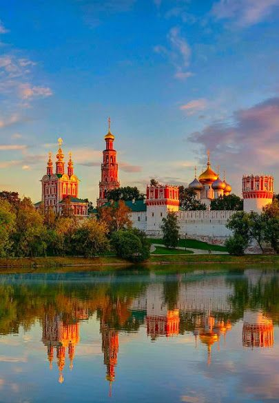 Novodevichy Convent Moscow , Russia