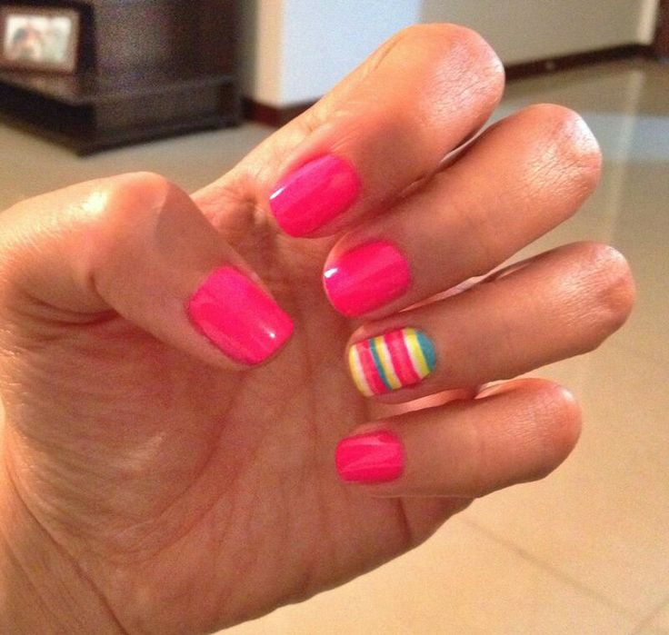 Happy nails #nails #inspiration @Melissa Grisales Henao