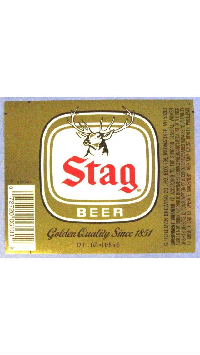 good old stag stag beer stag beer beer