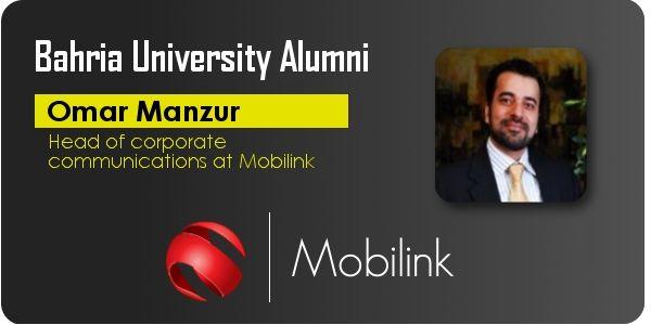 "Pride Of Bahria ""Omar Manzoor""             Bahria Universiy Alumni Association www.bahria.edu.pk"