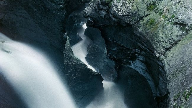 Trümmelbach Falls – in the Valley of the 72 Waterfalls - Switzerland Tourism 72 waterfalls? Sounds like heaven!