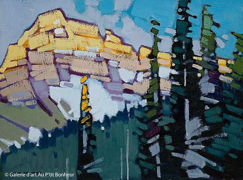 Cameron Bird, 'Nigel Dawn', 12'' x 16''   Galerie d'art - Au P'tit Bonheur - Art Gallery