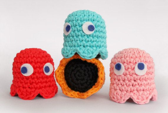 1000+ ideas about Pacman Ghosts on Pinterest Hama beads ...