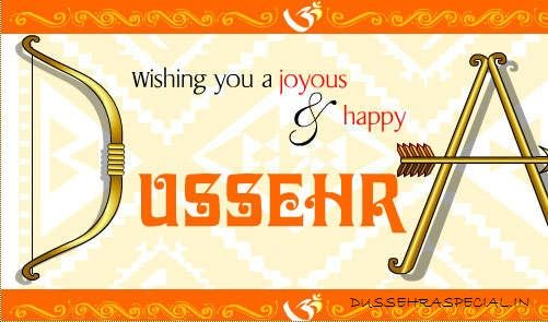 DUSSEHRA wishes, dasara images,dussehra greetings, dasara sms