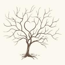 My dream back piece is an old tree on my husbands family property...I love the heart in this middle of this sketch!