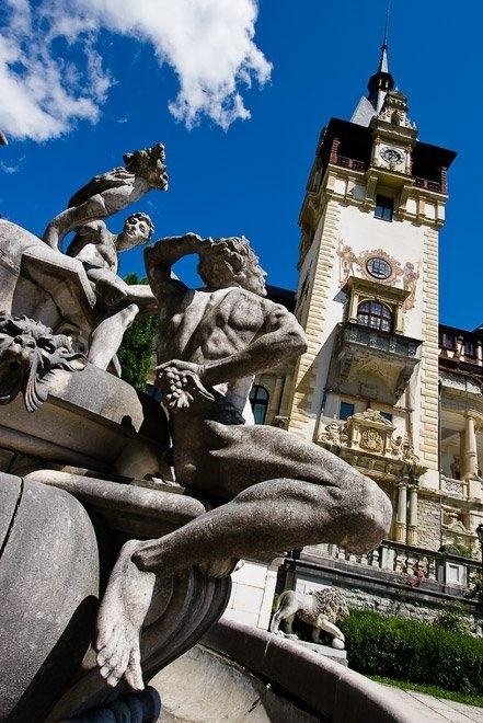 The Peles castle, home of the Romanian royalty Hohenzollern  Sigmaringen www.romaniasfriends.com