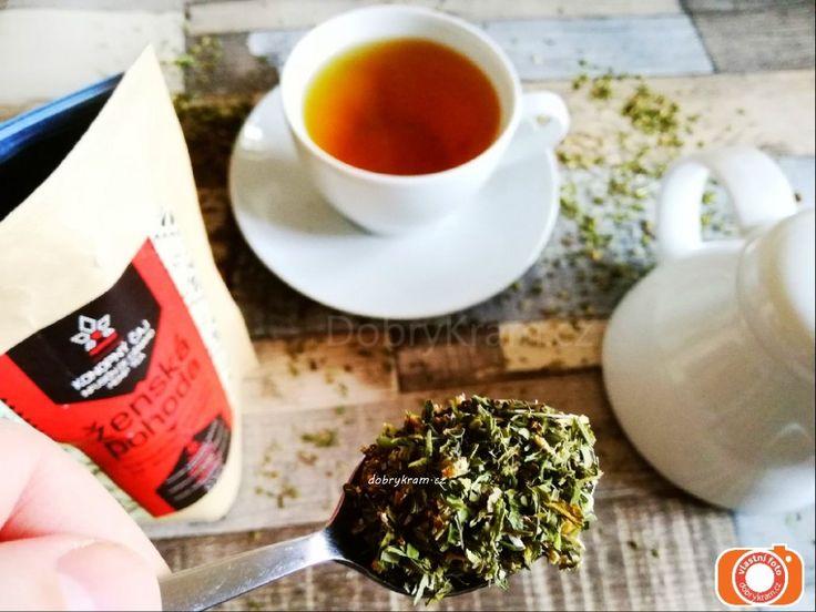 Konopný čaj pro ženskou pohodu