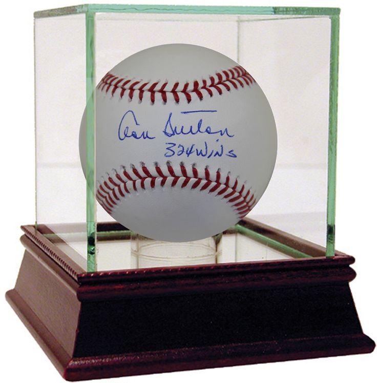 Don Sutton Autographed Baseball w/ '324 Wins' Inscription