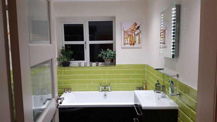 Metro Lime Wall Tile