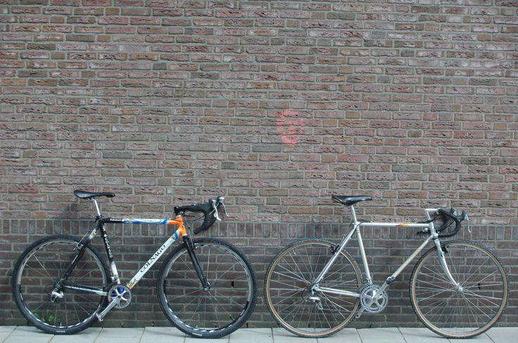 Colnago Dream CX (cyclocross) Rabobank decor and Colnago Dual CX