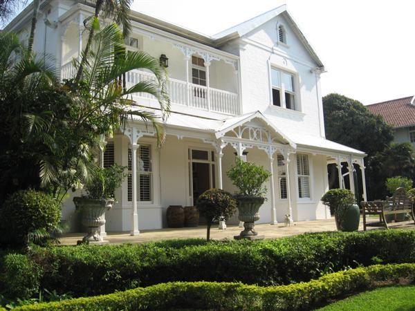Colonial house on Berea, Durban.