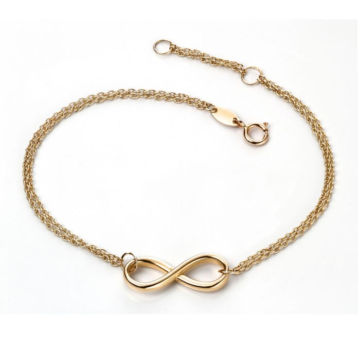 Another absolutely stunning designer bracelet from our website. Made from solid 9ct yellow gold. known as 'Infinity' as part of the Elements Gold collection: http://bit.ly/1KcKvJL