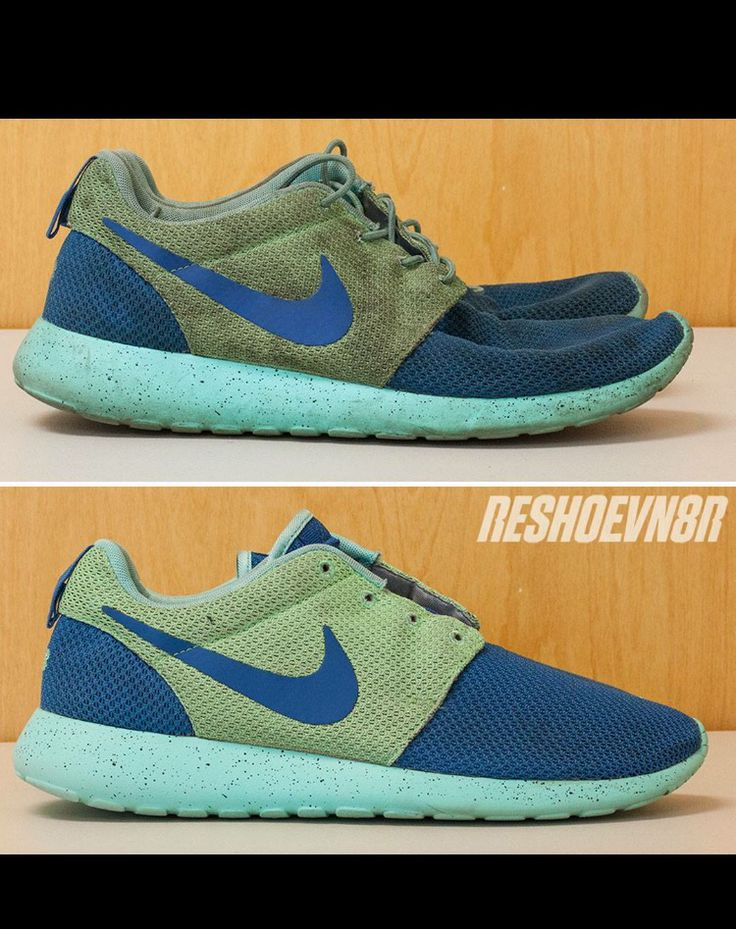 Check out how Reshoevn8r cleaned up these Nike Roshe's! Go to  Reshoevn8r.com and. Clean ShoesNike ...