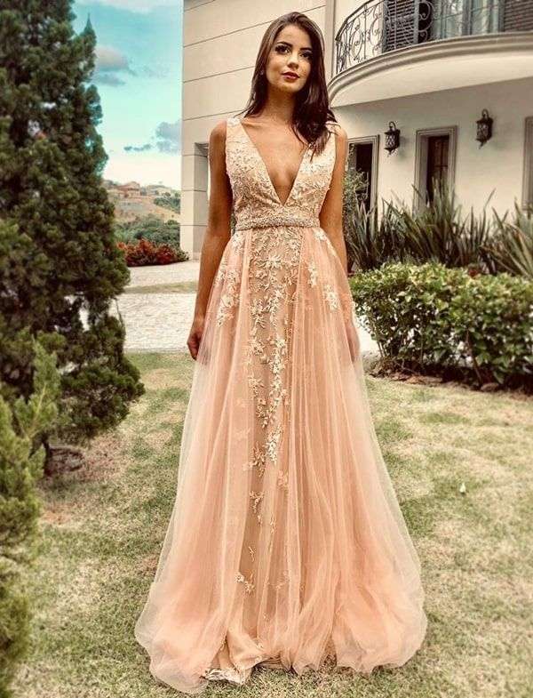 Pin on Vestido de festa longo / Gown