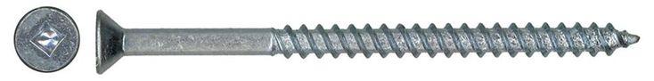 8x3-1/2 Flat Hd Soc Wood Screw 50/Bx