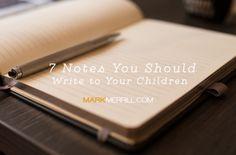Notes to children