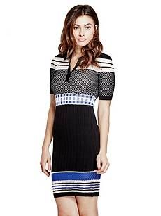 Jaymes Mixed Dress | GUESS by Marciano