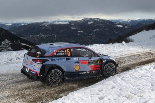 Sébastien Ogier is just four speed tests away from a popular home WRC victory at Rallye Monte-Carlo, but the Frenchman will need to hold his nerve in the Sunday finale after impressive Toyota debutant Ott Tänak kept him on his toes throughout Saturday.