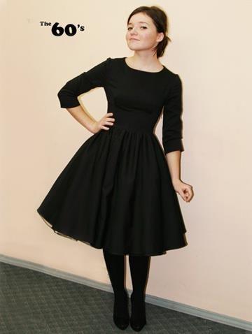 Платье 60 х годов фото