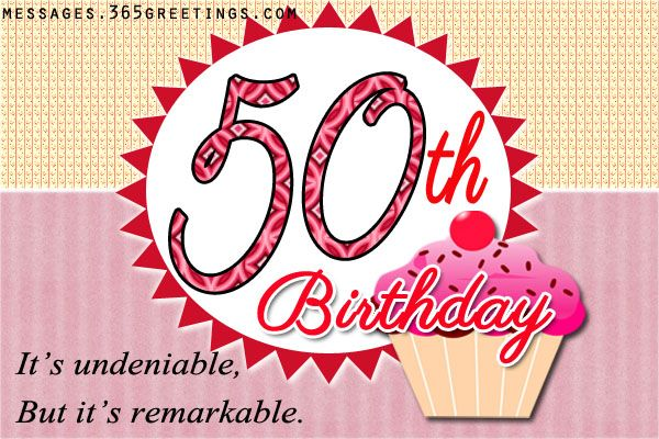 50th birthday wishes and messages happy birthday quotes