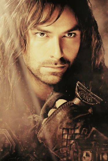 Kili - Aidan Turner. He is too cute! Specially in  The Hobbit: The Desolation of Smaug