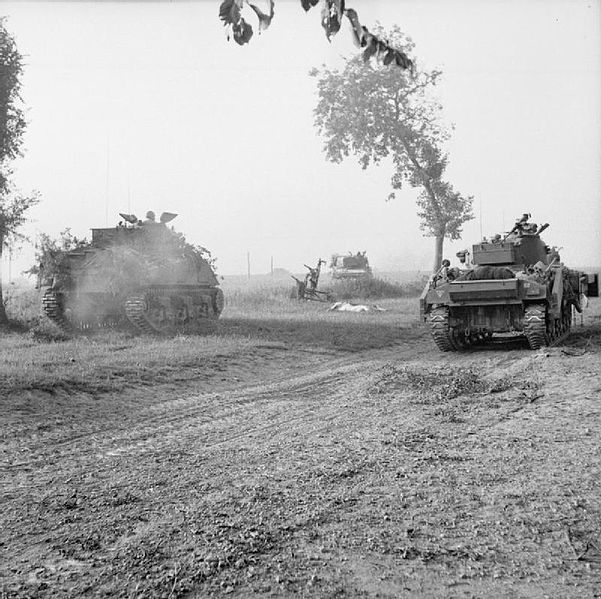 Operation Goodwood In Normandy France Was A British Offensive Against The German Forces At The End Of July 1944 It Is Called British Tank Tank History Online