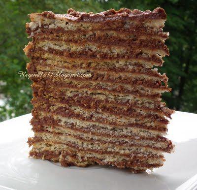 """Для влюблённых в торты и не только...: Торт """"Мадъярица"""" (Madjarica)"""