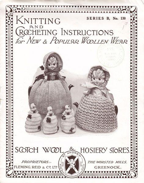 vintage knitting pattern 1920s | Vintage knitting, Vintage ...