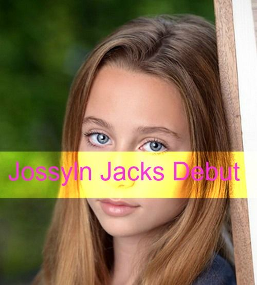 """General Hospital"" spoilers are in and the role of Josslyn Jacks was recast. The new actress, Eden McCoy will debut on the ABC soap opera on the Wednesday..."