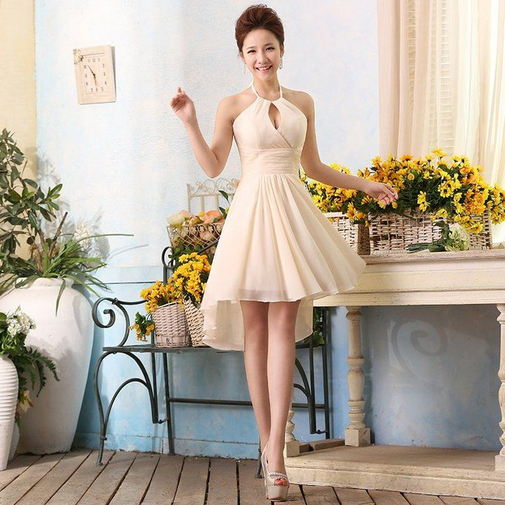 Short Colored Wedding Dresses