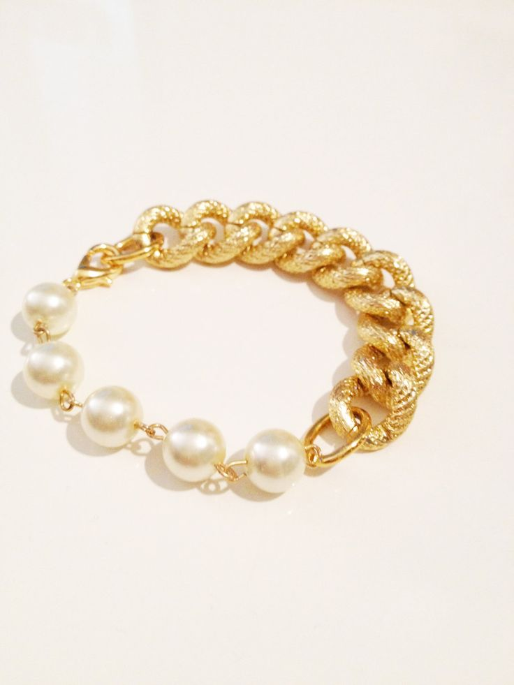 pearls and gold