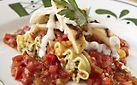 Olive Garden: Lasagna Primavera with Grilled Chicken {dinner portion} WWPP=15