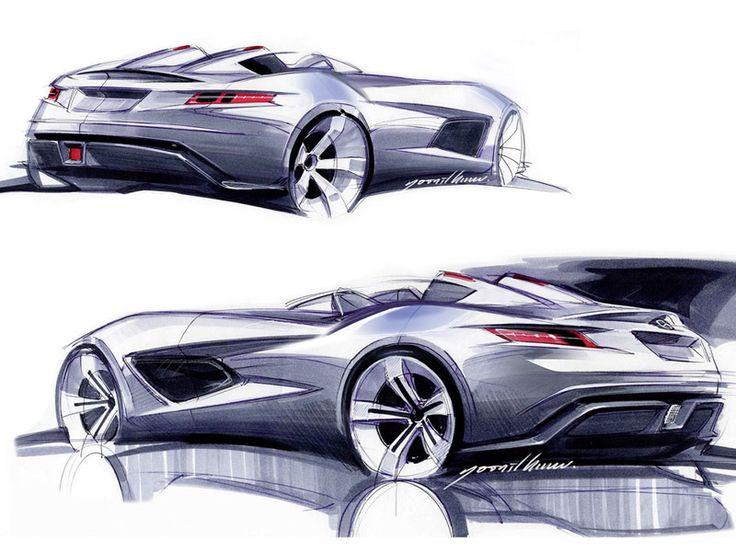 designonwheels: Stirling Moss. Mercedes-Benz SLR. 2007