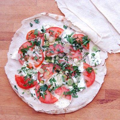 >PRZEPIS<  Zapiekanka po arabsku na szybko w chlebie pita